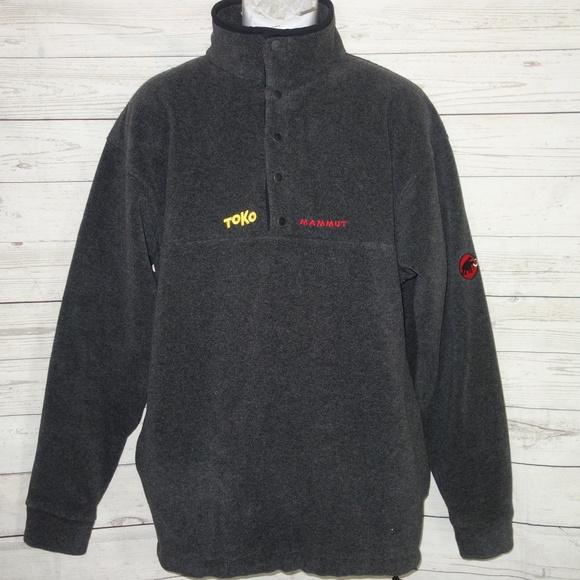 Mammut Other - Mammut Snap-T Fleece Jacket Men L TOKO Embroidered